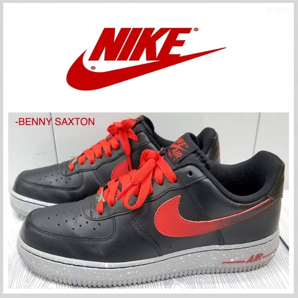 Nike Force Redblackgrey Air Low Challenge One tshQrdxC